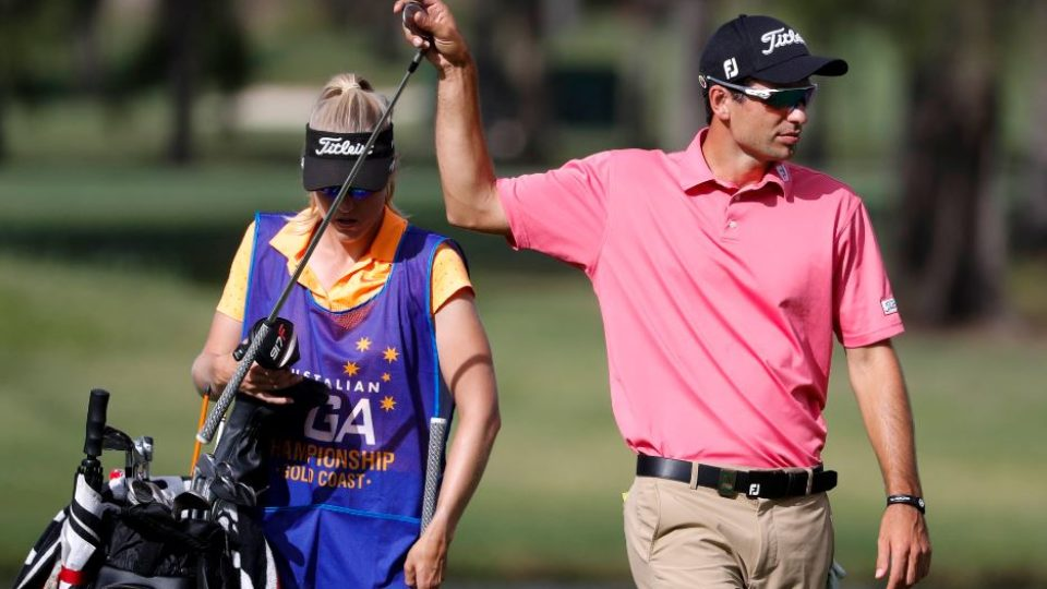 Leishman, Bland take lead at Australian PGA as Scott bows out