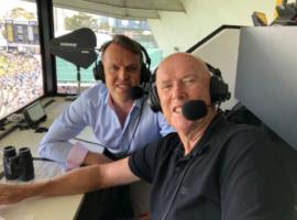 heyday of cricket on the radio