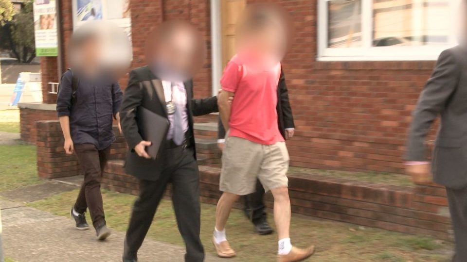 Australian Federal Police executed a search warrant at Chan Han Choi's Sydney home and took him into custody.
