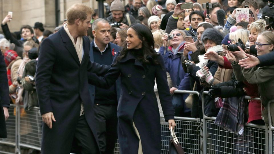 Harry and Meghan's first offical engagement
