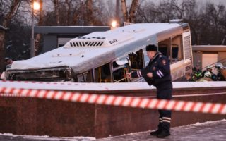russia bus crash moscow