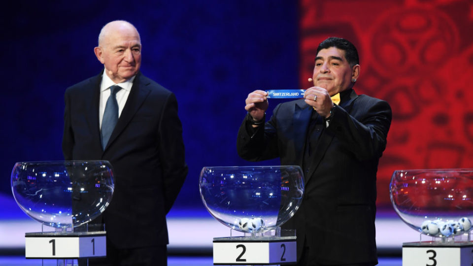 FIFA World Cup 2018 final draw