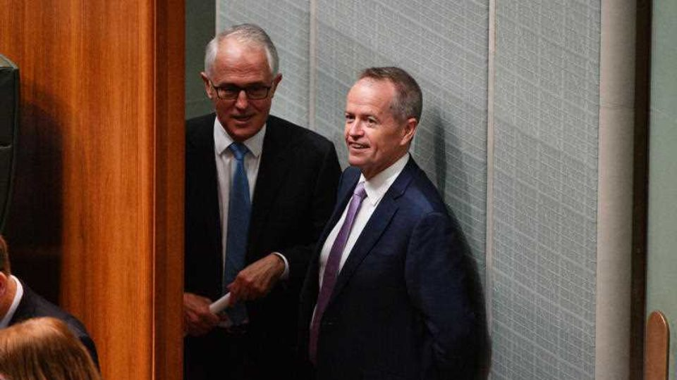 turnbull shorten facing uncertain 2018