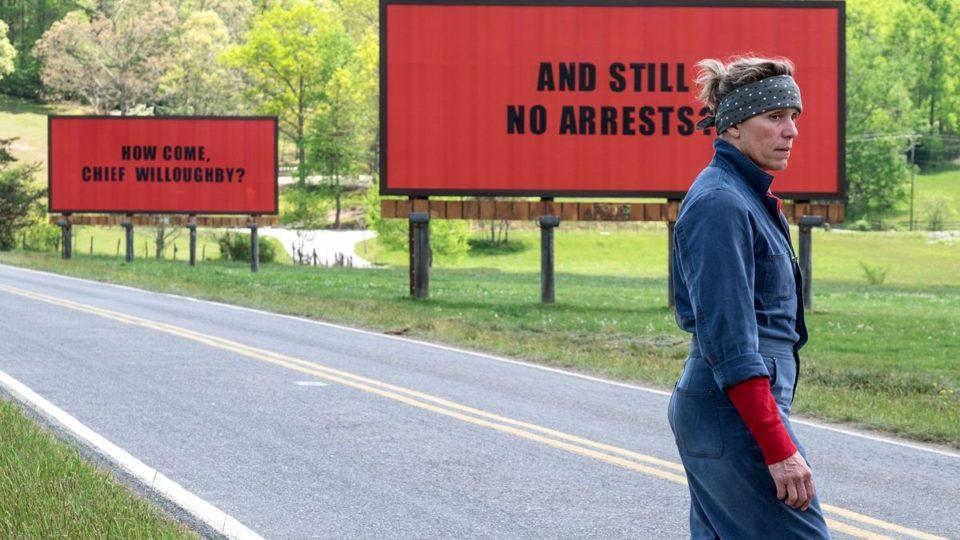 three billboards