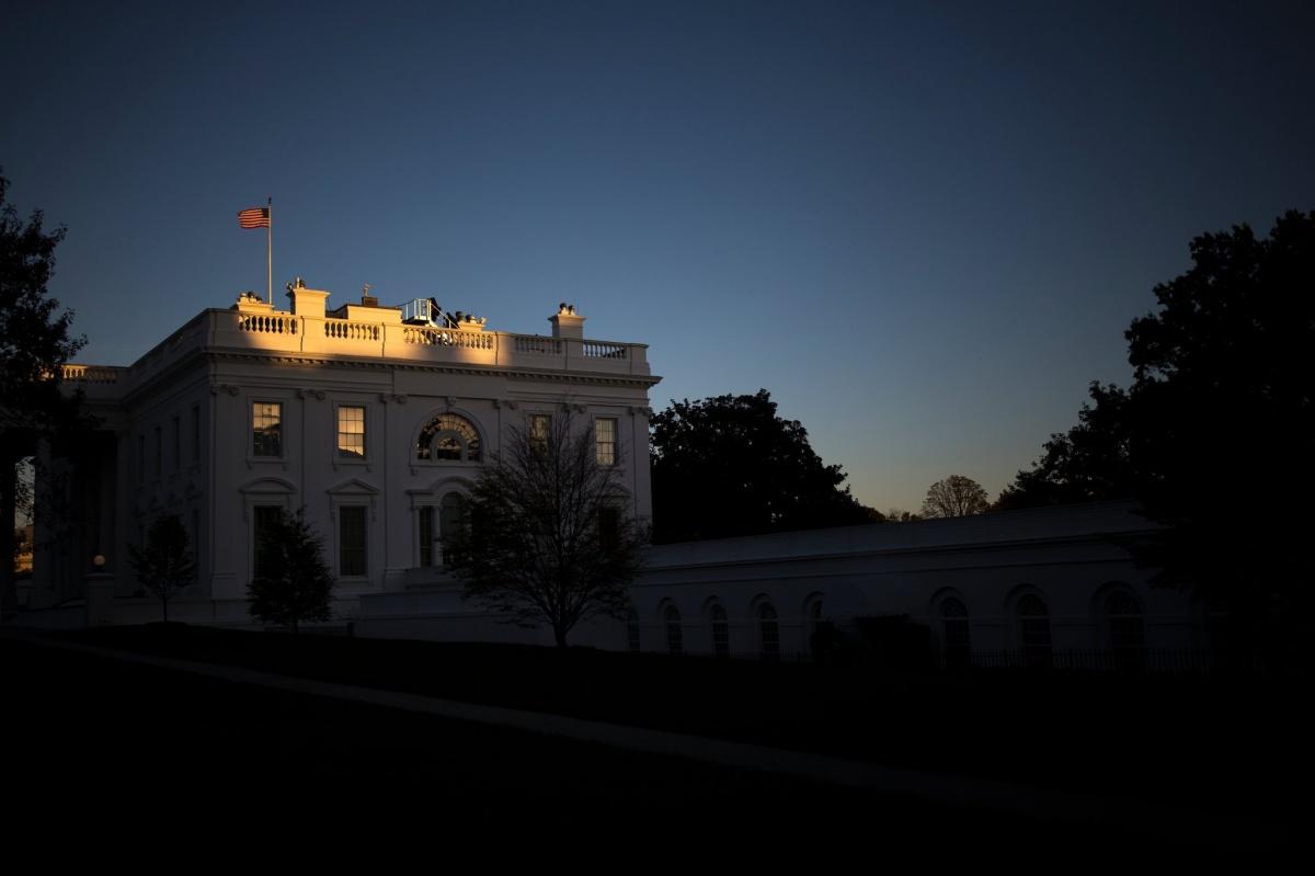 white house residence