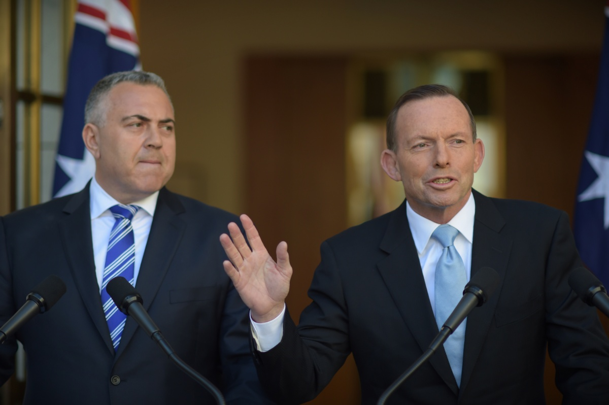 Joe Hockey and Tony Abbott2