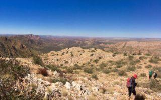 The Larapinta Trail in Central Australia