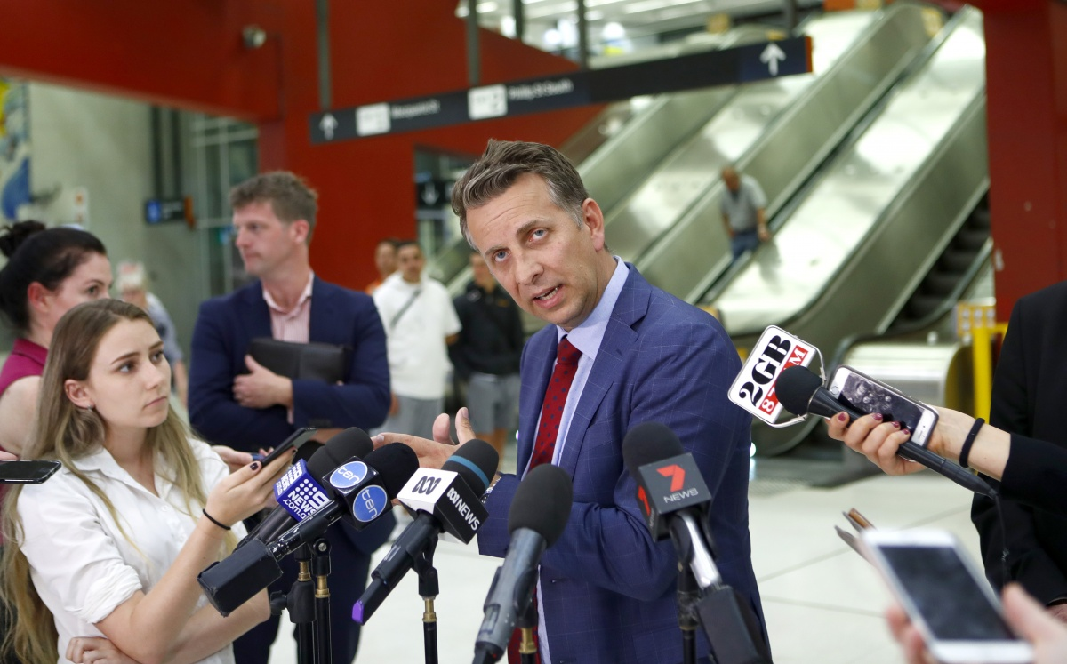 "Transport Minister Andrew Constance said he was ""disappointed"" with the industrial action was being taken."