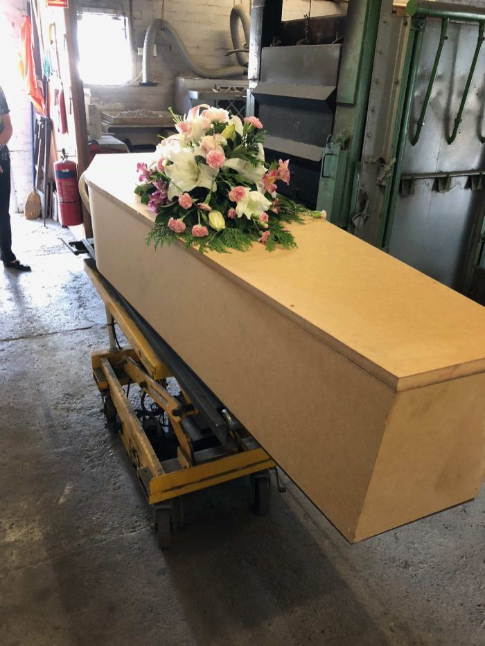 Queensland police say they found no evidence to substantiate a criminal offence against the funeral director.