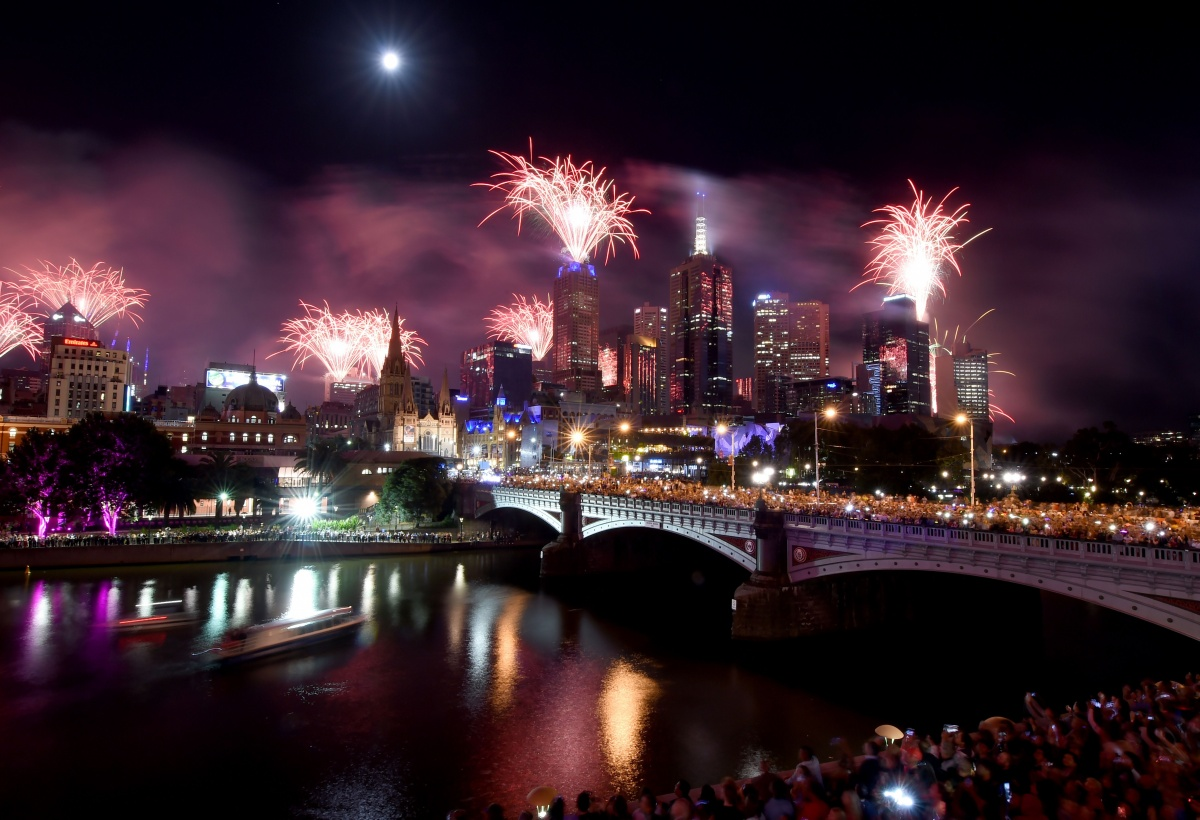 melbourne fireworks nye