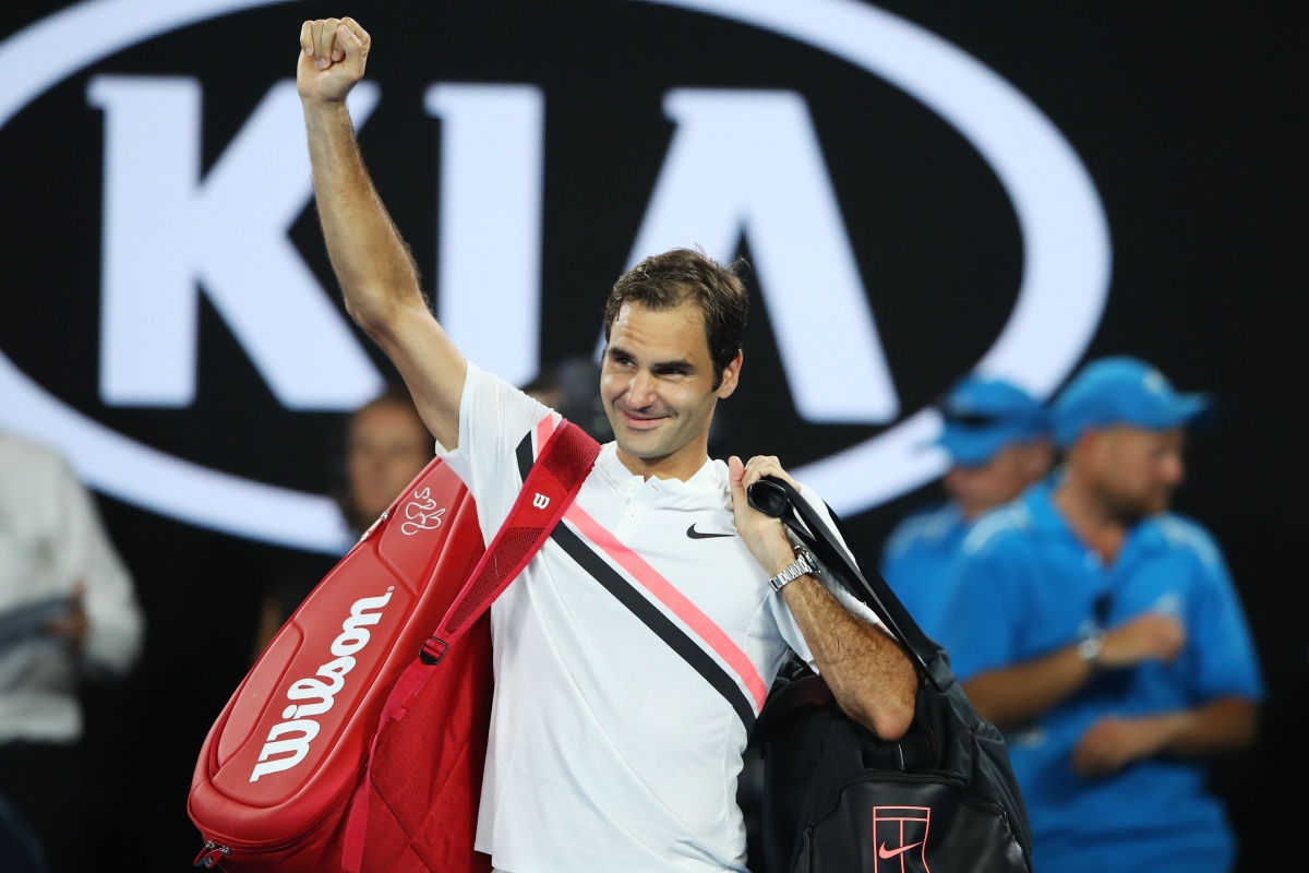 Federer wins 20th major title at Aussie Open