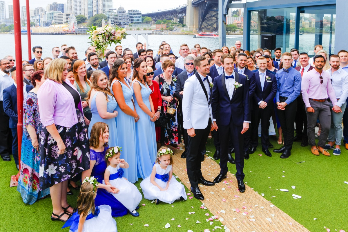 benjamin michael wedding