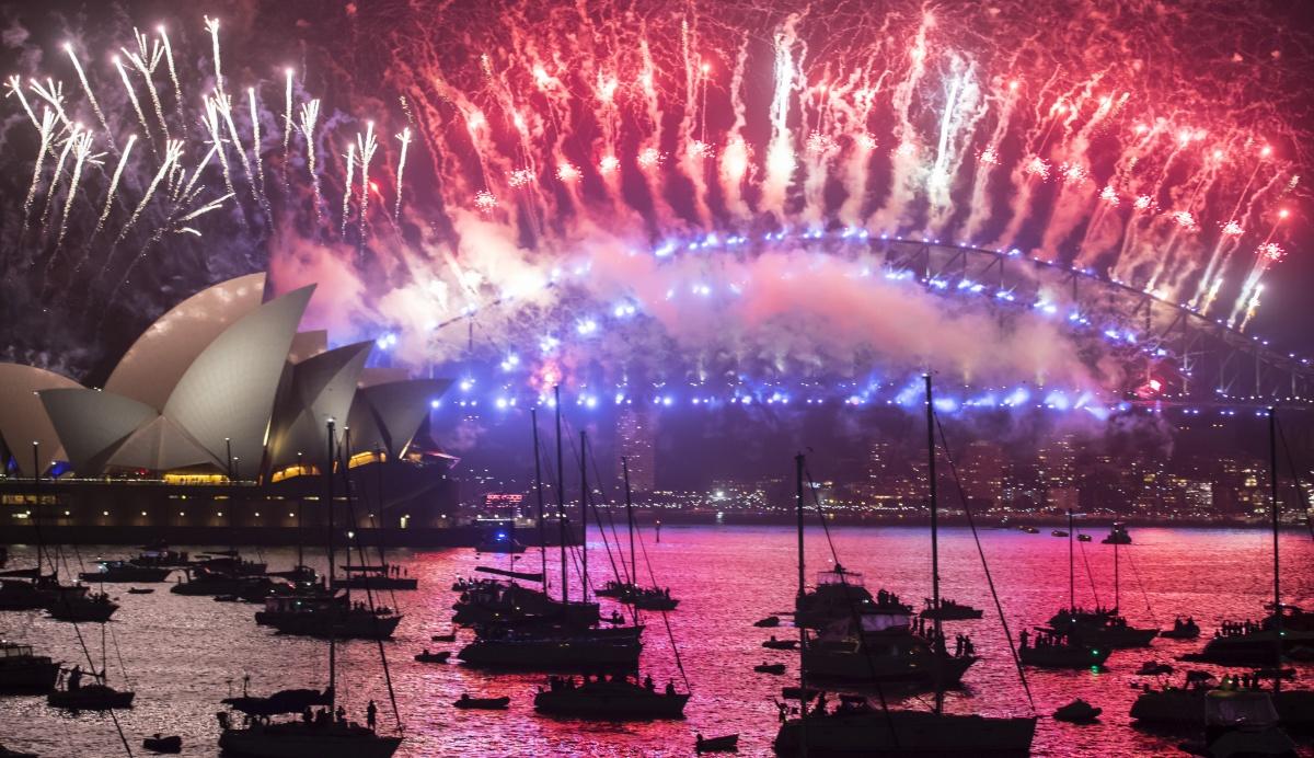 sydney fireworks nye