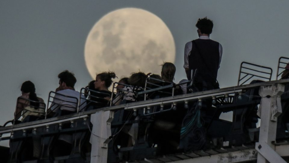 A super blue blood moon is on the horizon