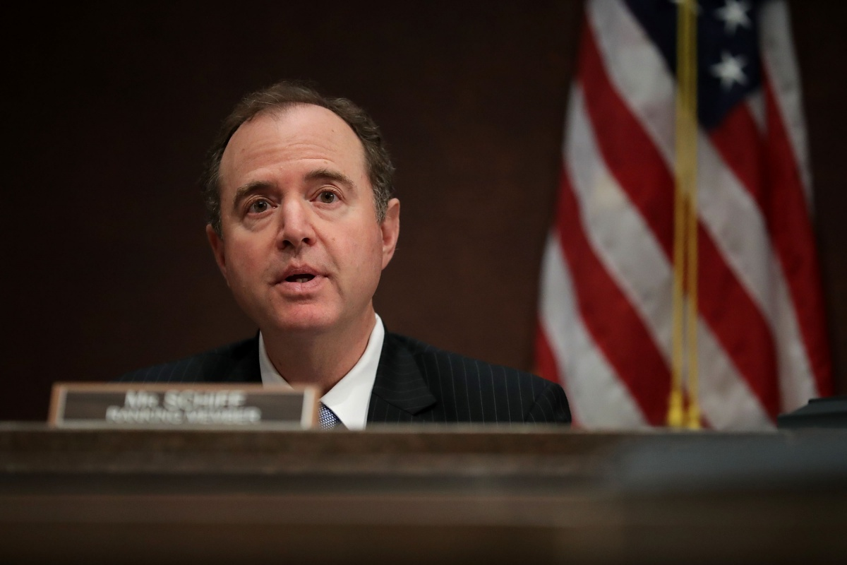 Donald Trump foe Adam Schiff