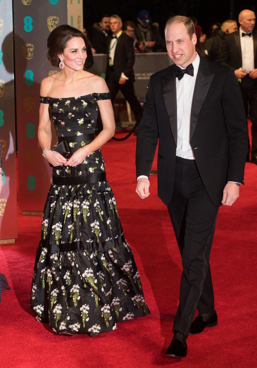 Duchess Of Cambridge Faces Awkward Dress Dilemma At This Year's BAFTAs photo