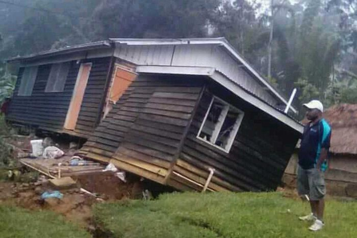 Papua New Guinea quake killed at least 15, governor says