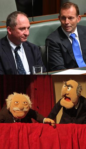 abbott joyce muppets