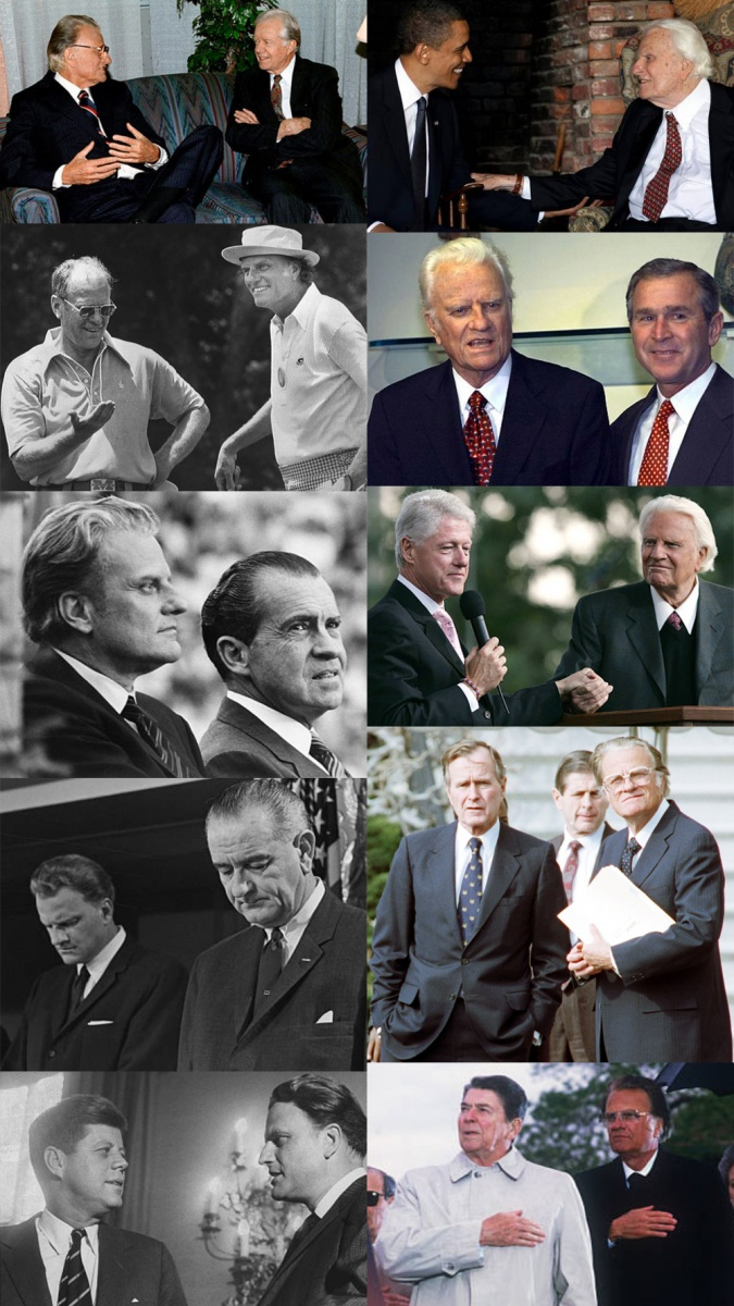 billy graham presidents