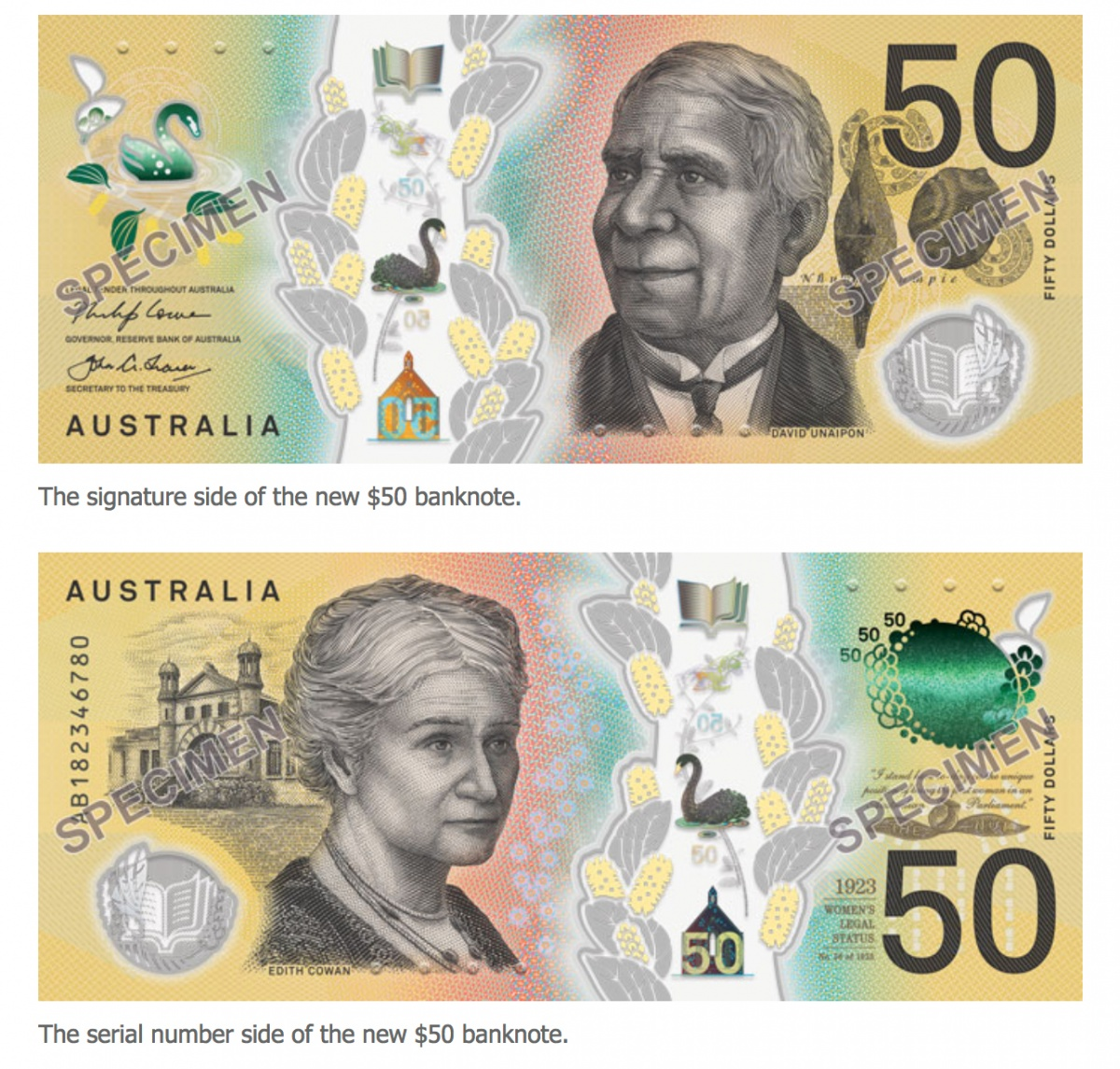 new $50 note