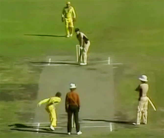 The underarm bowling incident was to prevent New Zealand from getting the runs they needed