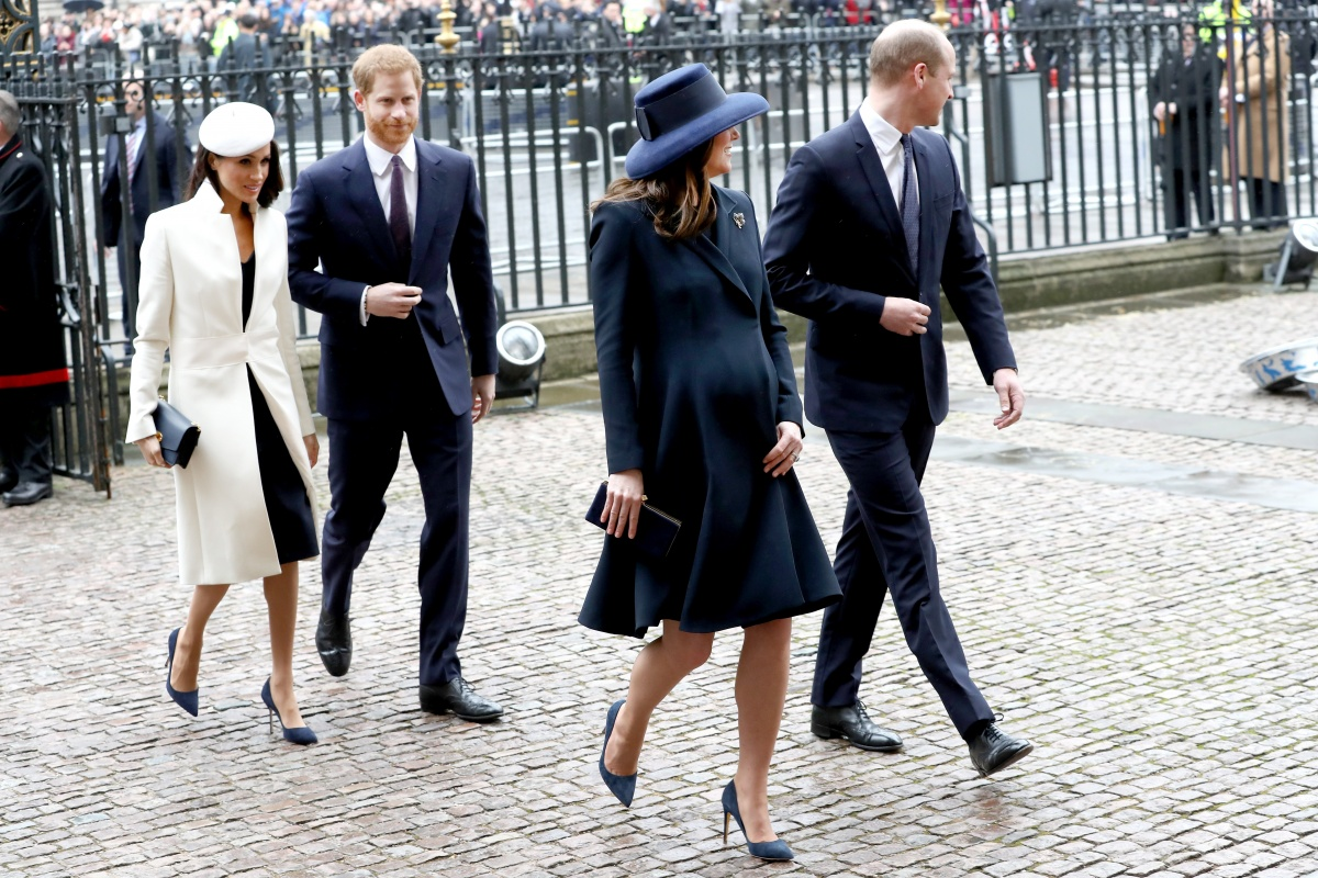 Meghan, Harry, Kate, William