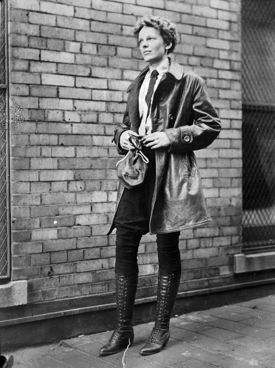 Amelia Earhart fashion
