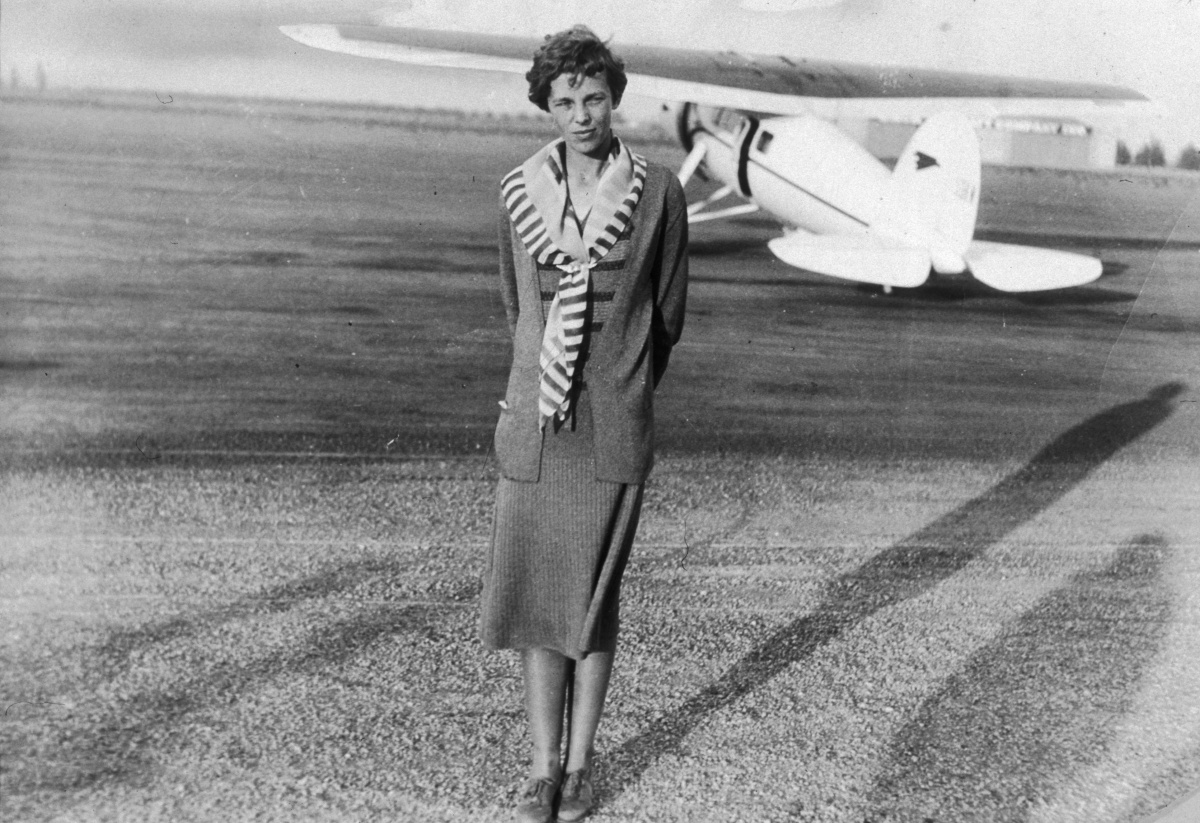 Bones on remote Pacific island were likely Amelia Earhart's