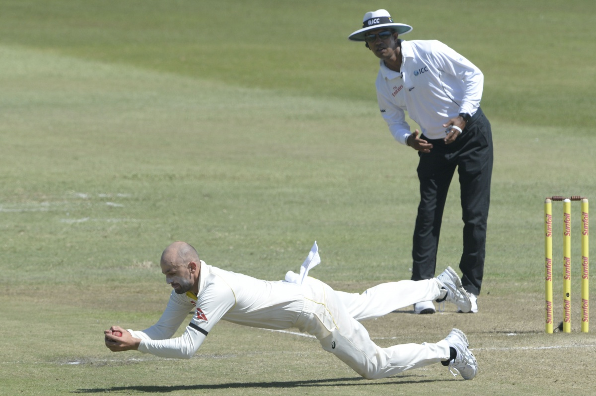 Nathan Lyon South Africa
