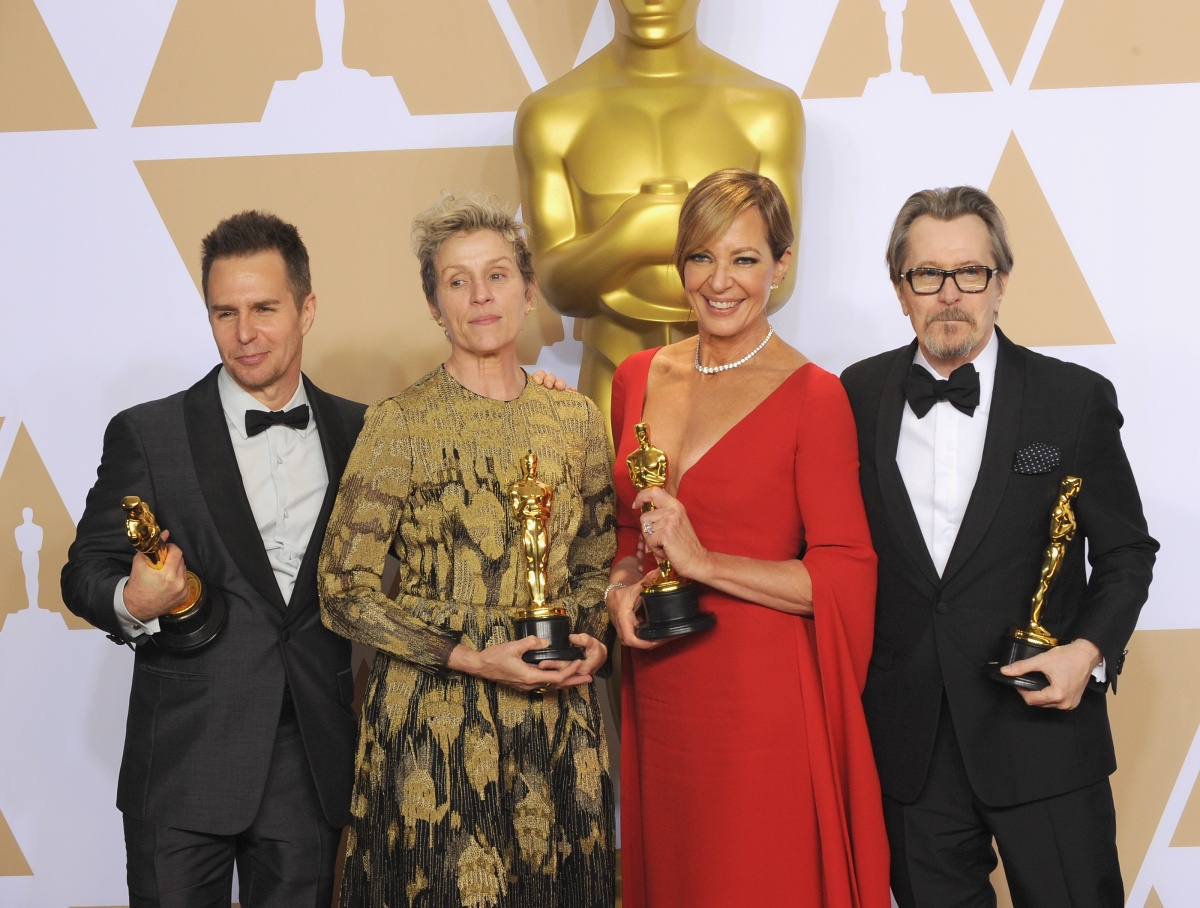 The Oscars saw Sam Rockwell, Frances McDormand, Allison Janney and Gary Oldman all win awards