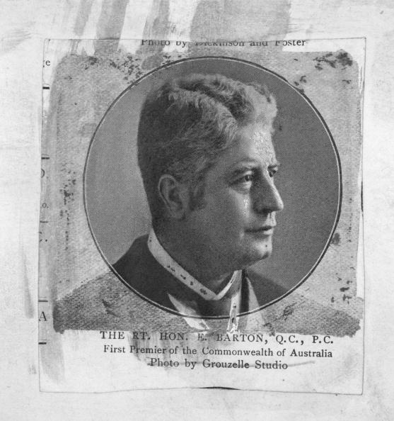 Sir Edmund Barton was the first prime minister of Australia and played a major role in shaping the early national administration.