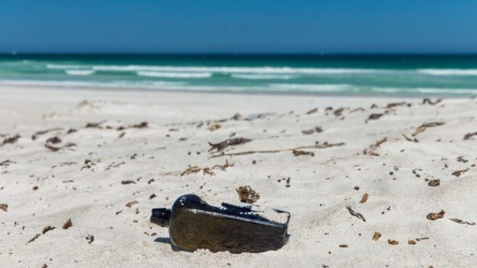 World's oldest-known message in a bottle discovered on Australian beach