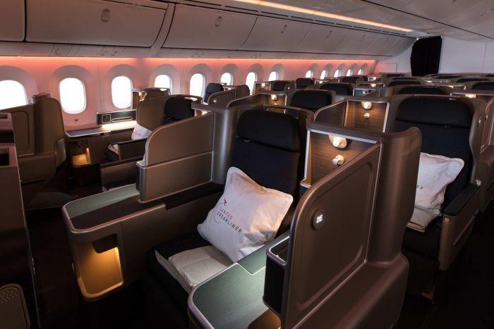 inaugural perth to london flight