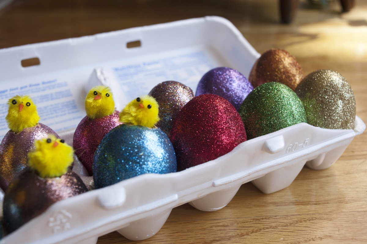 The decoration of eggs is believed to date back to the 13th century.