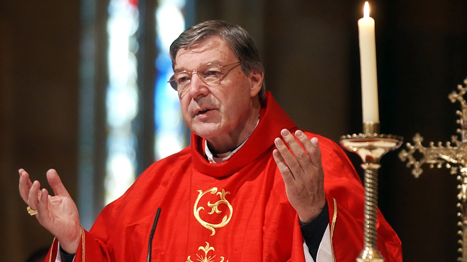 Vatican No 3 Cardinal Pell accused of sex offences