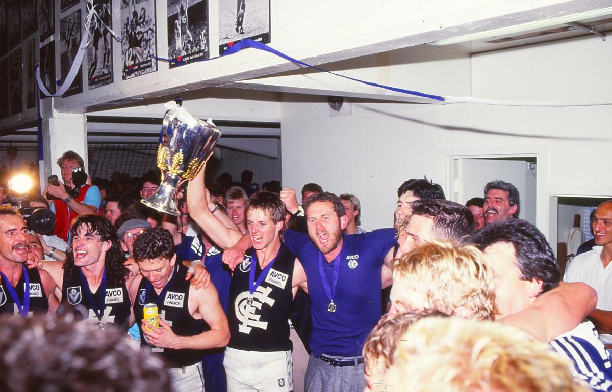 In 1987, Carlton won the VFL Grand Final.