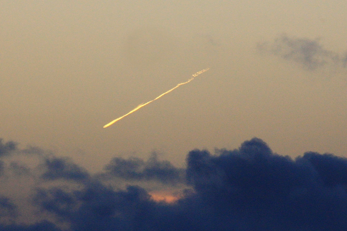 hinese space station hitting earth