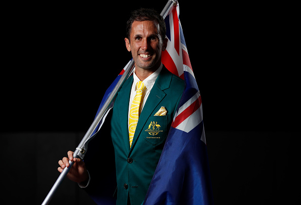 Mr Knowles will carry the Australian flag in Gold Coast Commonwealth Games.