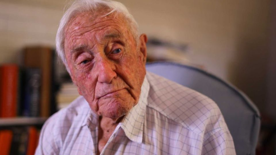 104yo David Goodall at home