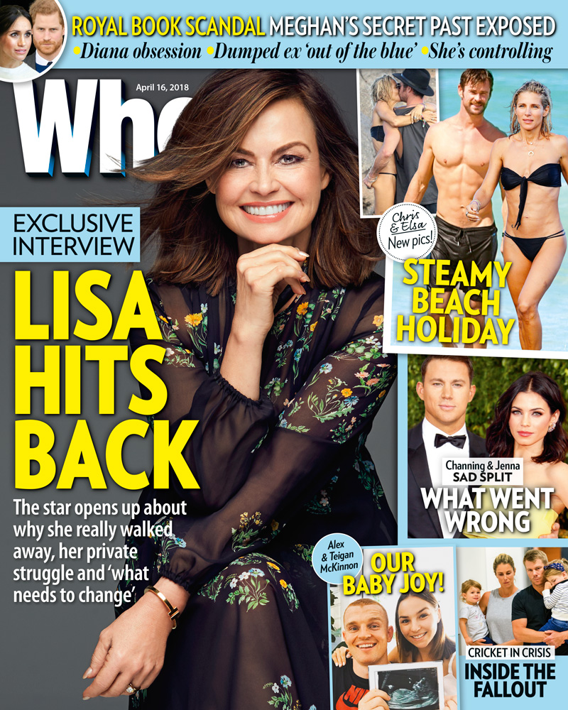 Lisa Wilkinson Who cover