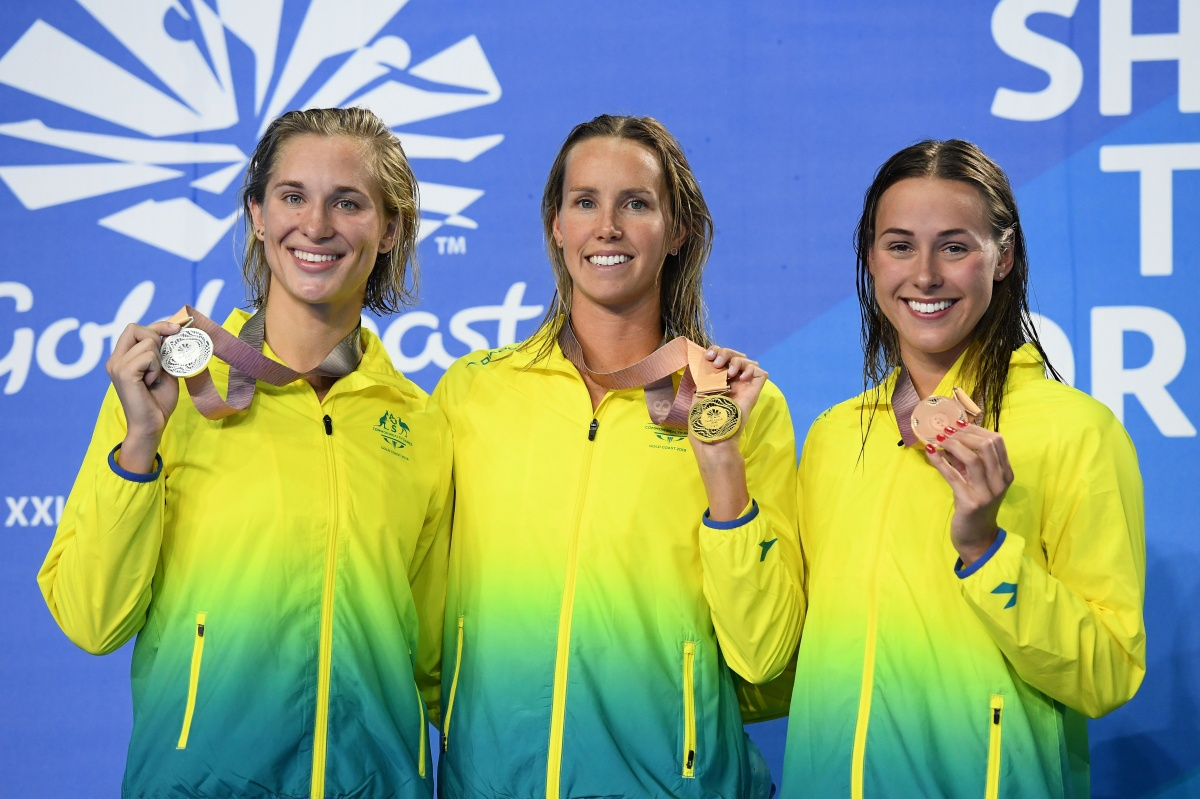 Triple gold for record-breaking Aussie cyclists