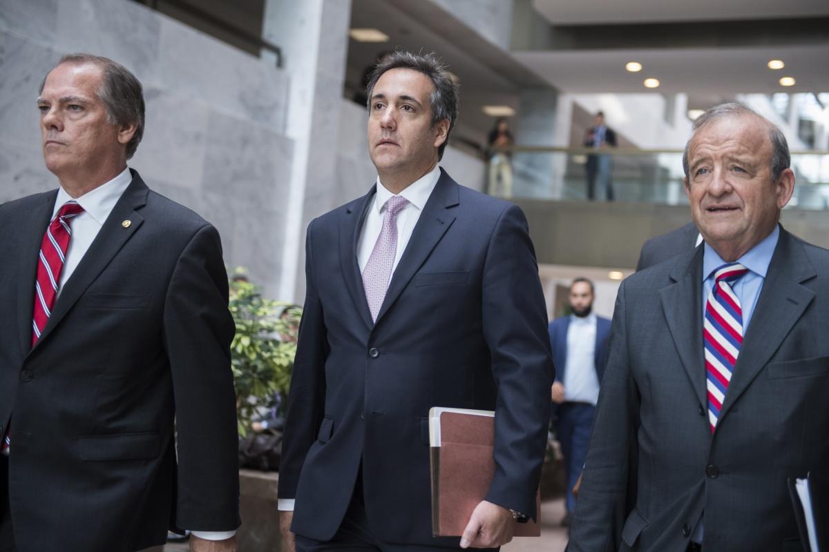 Michael Cohen Donald Trump lawyer