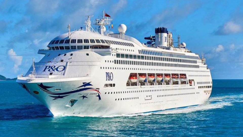 Frantic search for woman who fell overboard on P&O cruise ship
