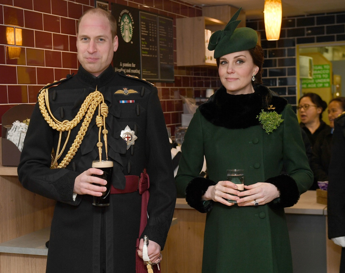 William and Kate St Patrick's Day