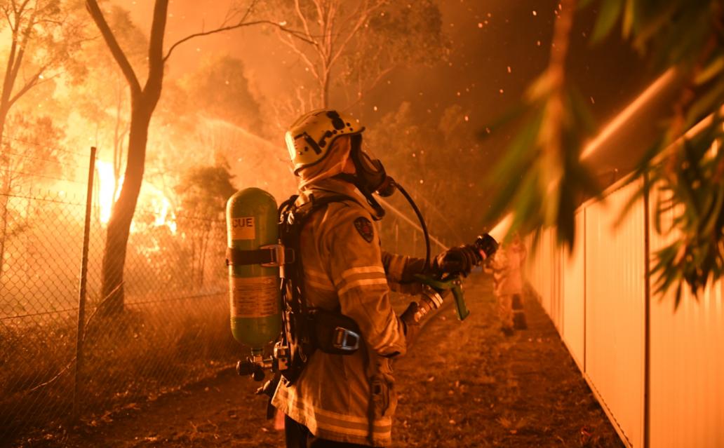 sydney bushfire