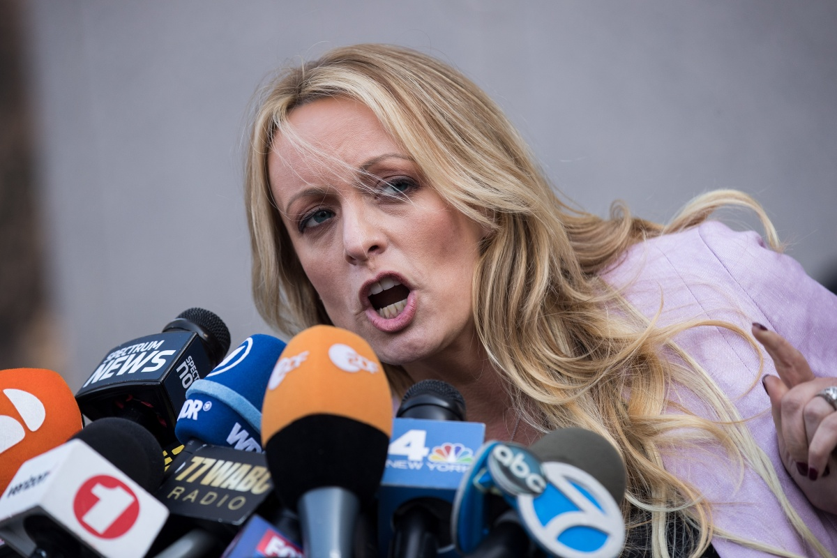 trumps lawyer michael cohen stormy daniels in court