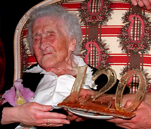 Jeanne Calment is the oldest person to have ever lived. She died at the age of 122