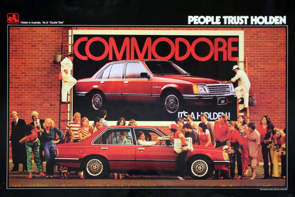 Holden Commodore poster