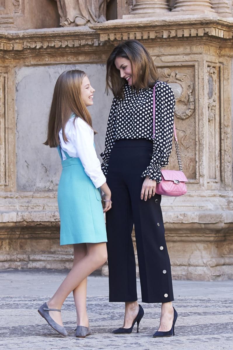 Queen Letizia Infanta Sofia
