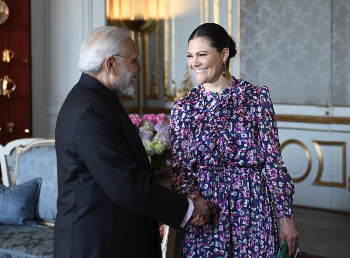 Crown Princess Victoria Indian PM